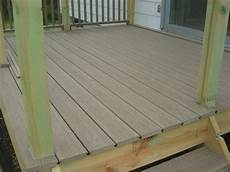 Light Decking Material Review Ultradeck Composite Decking Material By