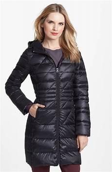 bernardo coats bernardo hooded packable goose walking coat in black