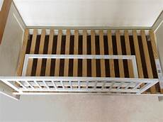 baby dan wooden bed guard rail baby child toddler