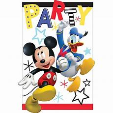 Custom Mickey Mouse Invitations Mickey Mouse Invitations 8ct Party City