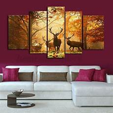 hd canvas print modern scenery animal wall