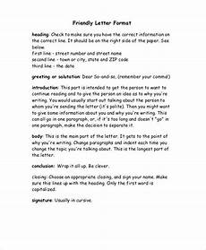 Example Of Friendly Letter 12 Friendly Letter Format Free Sample Example Format
