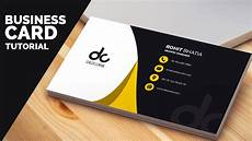 Business Card Card Design Business Card Design In Photoshop Cs6 Tutorial Learn