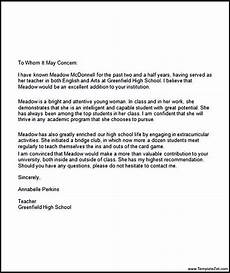 Reference Letter From College Sample Letter Of Recommendation College Recommendation