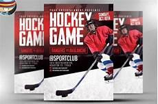 Hockey Flyer Template Hockey Game Flyer Template Flyer Templates Creative Market