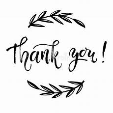 thank you card template and black thank you card template lettering brush pen modern