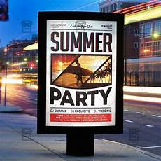 Party Flyer Size Summer Party Premium Flyer Template Instagram Size