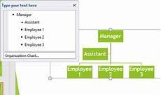 Smartart Organization Chart Powerpoint 2010 Create An Organization Chart Using Smartart Graphics The