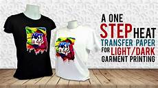 T Shirt Transfer T Shirt Printing Using Laser Opaque Transfer Paper Youtube