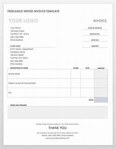 Writing Invoice Template 55 Free Invoice Templates Smartsheet