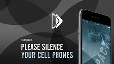 Silence Your Cell Phone Silence Your Cell Phones On Behance
