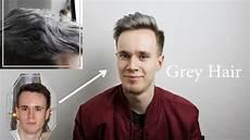männer frisuren weiße haare graue haare x beim mann