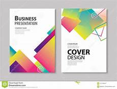 Front Page Design Template Abstract Modern Geometric Cover And Brochure Design