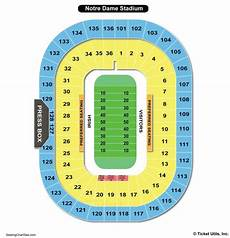 Notre Dame Stadium Seating Chart View Notre Dame Stadium Seating Chart Seating Charts Amp Tickets