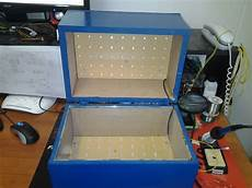 Uv Light Box For Cyanotypes Uv Light Box 171 Adafruit Industries Makers Hackers