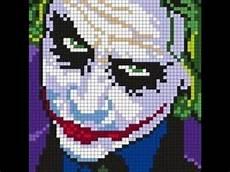 Minecraft Pixel Art Grids Minecraft Pixel Art Tutorial The Joker Youtube