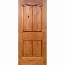 prehung interior doors home depot krosswood doors 30 in x 80 in knotty alder 2 panel top