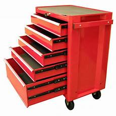 excel 27 in 5 drawer steel roller cabinet tool chest in