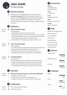 Create A Free Resume And Download 20 Professional Resume Templates For Any Job Download