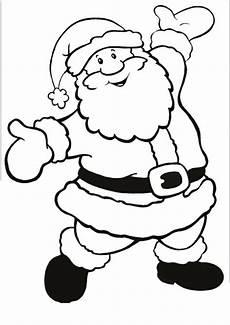 Malvorlagen Zum Ausdrucken Weihnachten Lustig Weihnachtsmann Ausmalbild Santa Coloring Pages