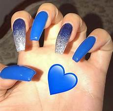 Light Blue Nails Coffin Baby Blue Acrylics Nails