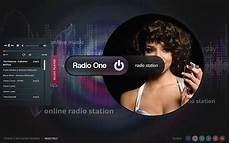 Music Html5 Template Radio One Radio Station Html5 Template 300111662 On Behance
