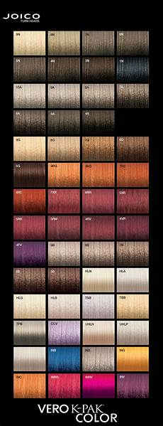 Joico Color Chart Joico Vero K Pak Colour Palette Hairstyles In 2019