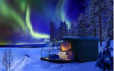 Northern Lights Glass The Best Winter Holidays For Non Skiers