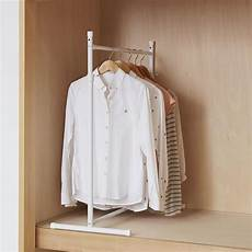 clothes hanger 10 heian adjustable clothes hanger ohw 10 furniture home