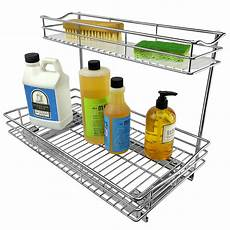 lynk professional 174 slide out sink cabinet organizer