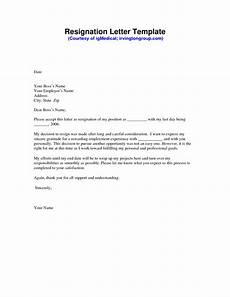 Resignation Letter Cover Resignation Letter Sample Pdf Formal Resignation Letter