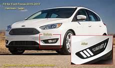 2016 Ford Focus Lights Fog Light Lamp Cover Led Daytime Running Lights For Ford
