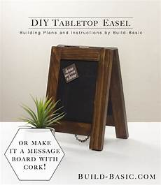 build a diy tabletop easel build basic