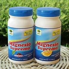 magnesio supremo effetti benefici magnesio supremo benefici controindicazioni opinioni e