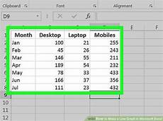 Making Line Graph In Excel 2 Easy Ways To Make A Line Graph In Microsoft Excel