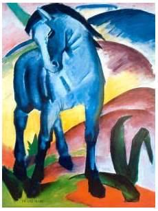 blaues pferd das blaue pferd blauer reiter kunst poster