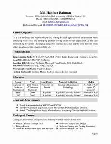 Career Objective For Software Developer Software Engineer Fresher Resume Objective