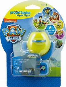 Paw Patrol Night Light Nickelodeon Paw Patrol Projectables Led Plugin Night Light
