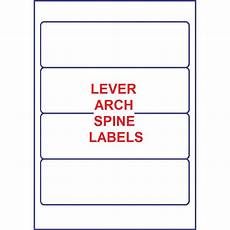 Template For File Labels Lever Arch File Spine Labels Filing Labels Octopus