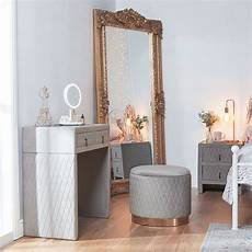 quilted dressing table dressing table with stool