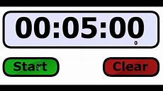 5 Minute Timer 5 Minute Class Timer Youtube