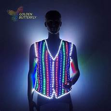 Led Lights To Wear Led Clothing Luminous Costumes Glowing Vest Led Suits 2017