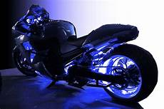 Motorcycle Led Light Kit Blue Wireless Motorcycle Led Lighting Strips Kit Engine
