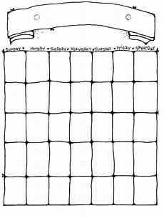 Calendar Blanks 14 Blank Activity Calendar Template Images Printable