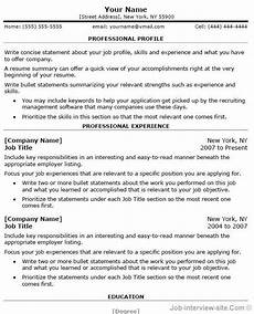 Professional Resume Word Template Free 40 Top Professional Resume Templates