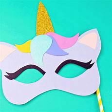 unicorn mask unicorn printables masks diy
