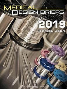 Medical Design Briefs Medical Design Briefs 2019 Technology Leaders Medical