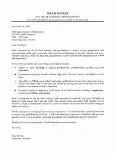 Cover Letter For Site Supervisor Oil Field Supervisor Cover Letter Sample Cover Letter