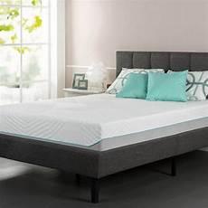 zinus sleep master icoil gel memory foam mattress