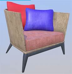 Wood Sofa 3d Image by 3d Artist Http Lugoarq Wood Sofa